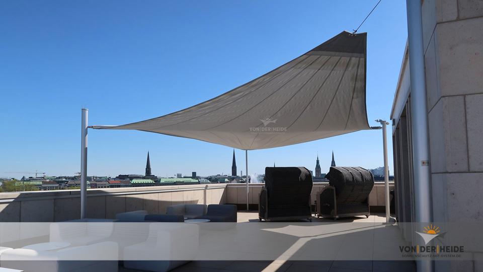 Dachterrassen und große Balkone