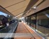 VDH-Schwebemarkisen  auf einem Balkon mit Dachmontage in Hamburg